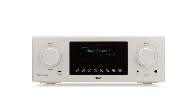 SDV 3100 HV Streaming DAC Vorverstärker