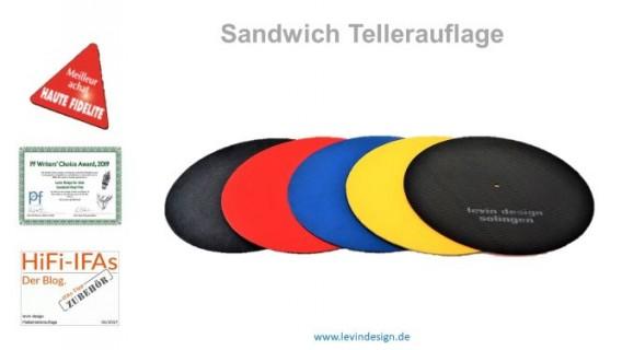 3fach-Sandwich Plattenauflage